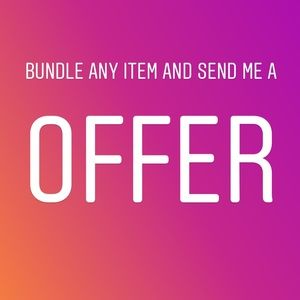Other - Bundle any item and send an offer